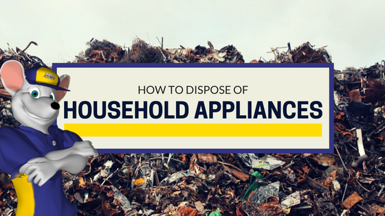 How to dispose of household appliances